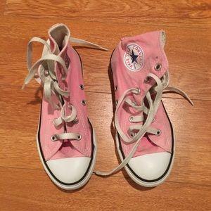 Converse All Stars Pink High-tops